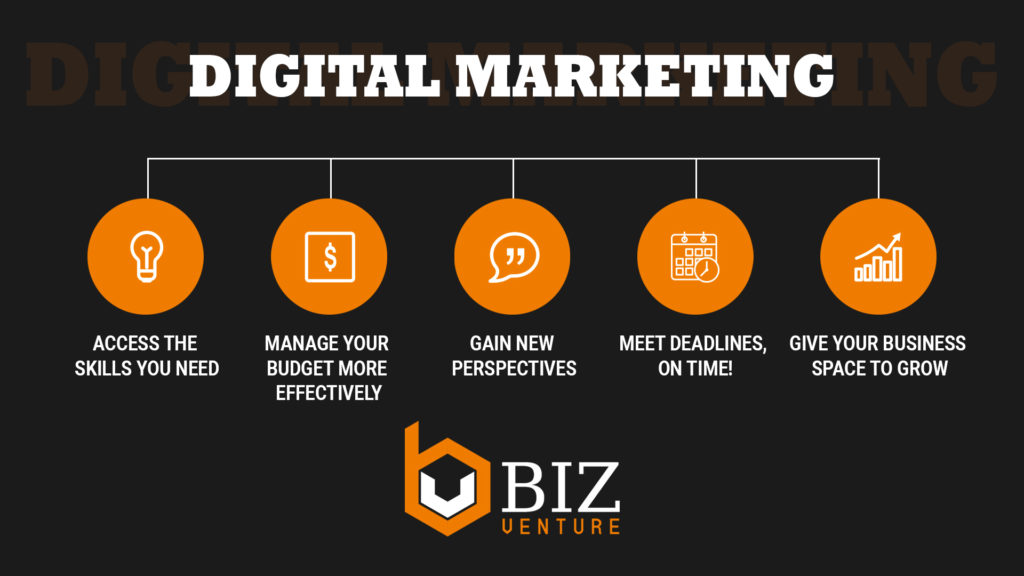 5 Reasons why to Hire a Digital Marketing Agency